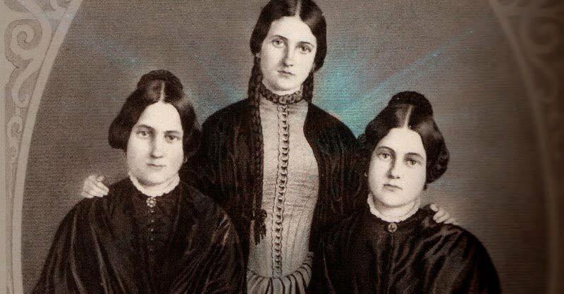 """Las hermanas Fox """"Las fundadoras del espiritismo"""" 1"""