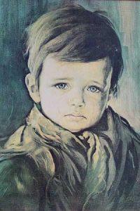 Los cuadros malditos de los niños llorones 3