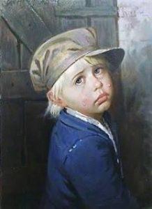 Los cuadros malditos de los niños llorones 5
