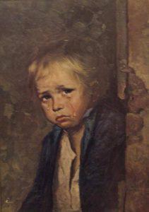 Los cuadros malditos de los niños llorones 8