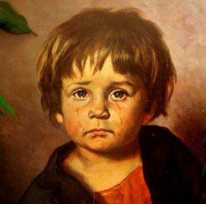 Los cuadros malditos de los niños llorones 2