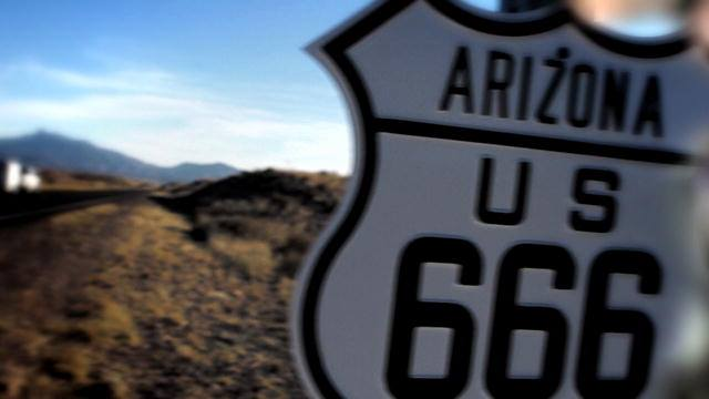 "La antigua ruta 666 ""La carretera del Diablo"" 1"
