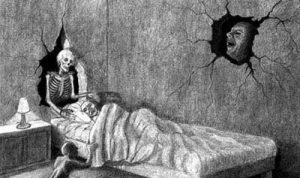 Que significa soñar que se te sube el muerto [Parálisis de sueño] 2