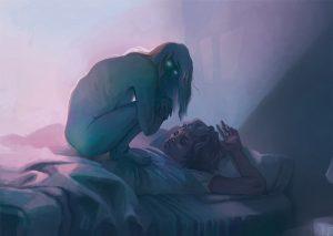 Que significa soñar que se te sube el muerto [Parálisis de sueño] 8