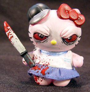 """El asesino """"Hello Kitty"""" 6"""