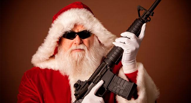 Un asesino vestido de Santa Claus 1