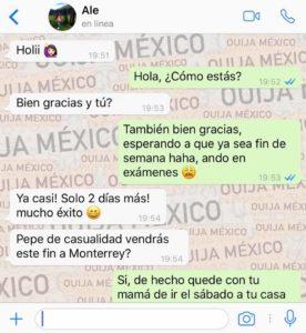 "Historia de WhatsApp ""Jacky"" 2"