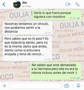 "Historia de WhatsApp ""Jacky"" 11"
