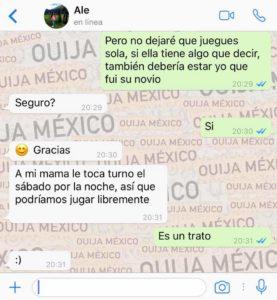"Historia de WhatsApp ""Jacky"" 14"