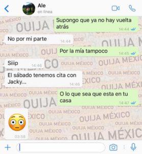 "Historia de WhatsApp ""Jacky"" 17"