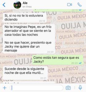 "Historia de WhatsApp ""Jacky"" 9"