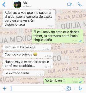 "Historia de WhatsApp ""Jacky"" 10"