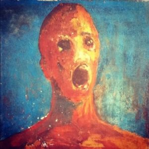 """La pintura embrujada del """"Hombre Angustiado"""" 4"""
