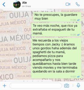 "Historia de WhatsApp ""Jacky"" - Parte 2 13"