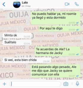 "Historia de WhatsApp ""Jacky"" - Parte 2 3"
