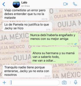 "Historia de WhatsApp ""Jacky"" - Parte 2 6"