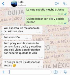 "Historia de WhatsApp ""Jacky"" - Parte 2 8"