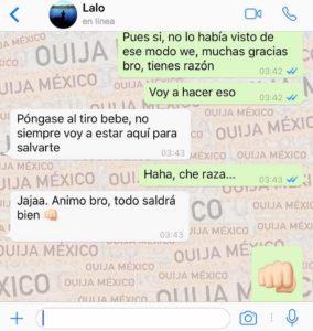 "Historia de WhatsApp ""Jacky"" - Parte 2 10"