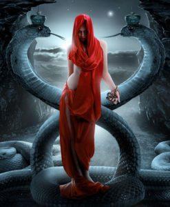 """La representación de la rebelión femenina """"Lilith"""" 2"""