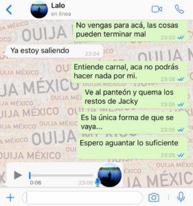 "HISTORIA DE WHATSAPP ""JACKY"" – PARTE 4 23"