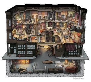 El castillo de la muerte del Dr. Holmes