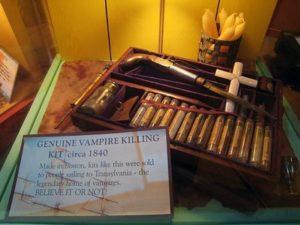 Los kits mata vampiros del siglo XVIII 7