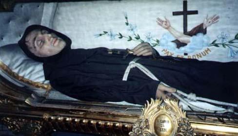 Los cuerpos conservados de los santos 1