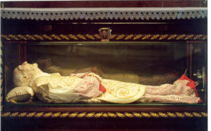 Los cuerpos conservados de los santos 5
