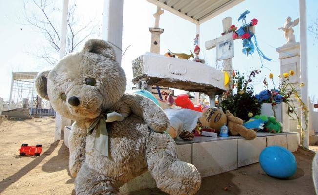 La tumba del niño Carlitos 1