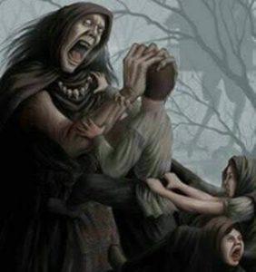 La bruja come bebés 2