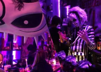 Bettlejuice Tim Burton Bar Ny